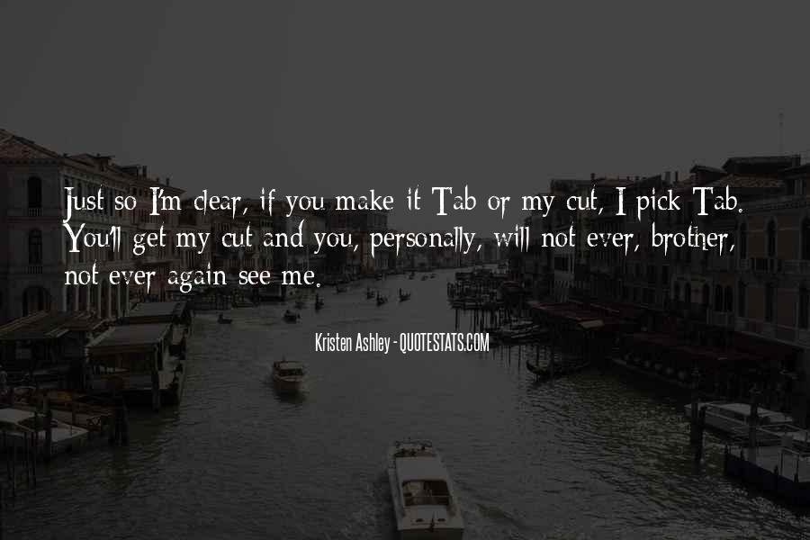 See Me Again Quotes #337019