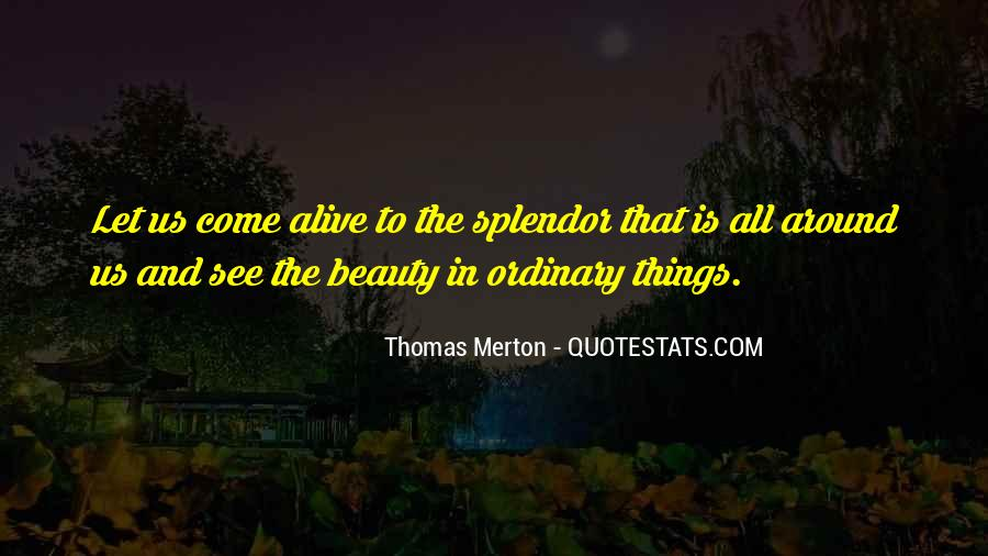 See The Beauty Around You Quotes #1471538