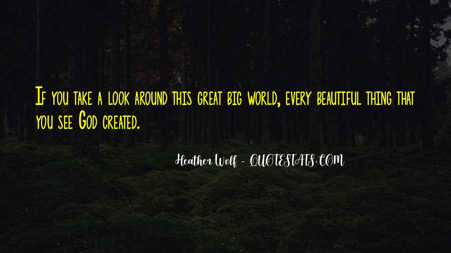 See The Beauty Around You Quotes #1574356