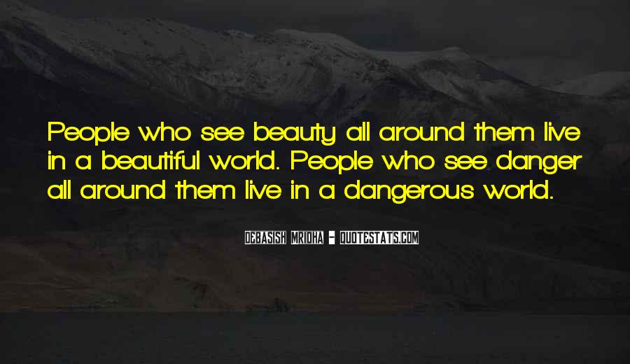 See The Beauty Around You Quotes #913210