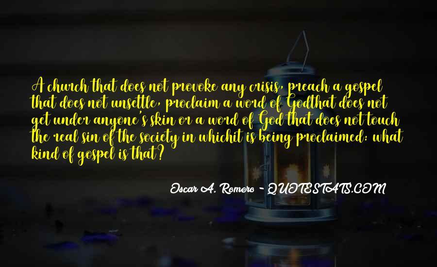 Quotes About Oscar Romero #116363