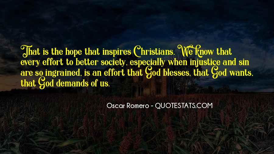 Quotes About Oscar Romero #434065