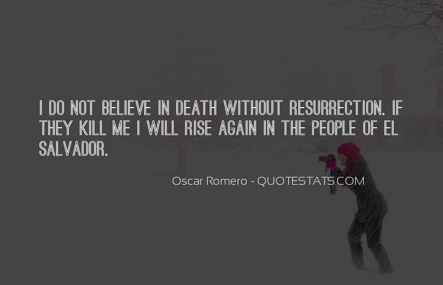 Quotes About Oscar Romero #47942