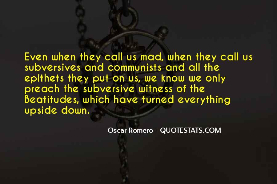 Quotes About Oscar Romero #523165