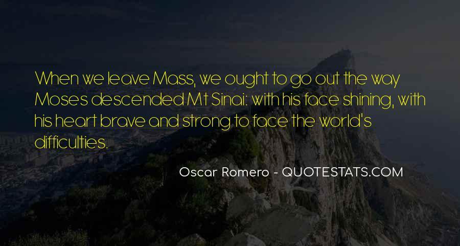 Quotes About Oscar Romero #59361