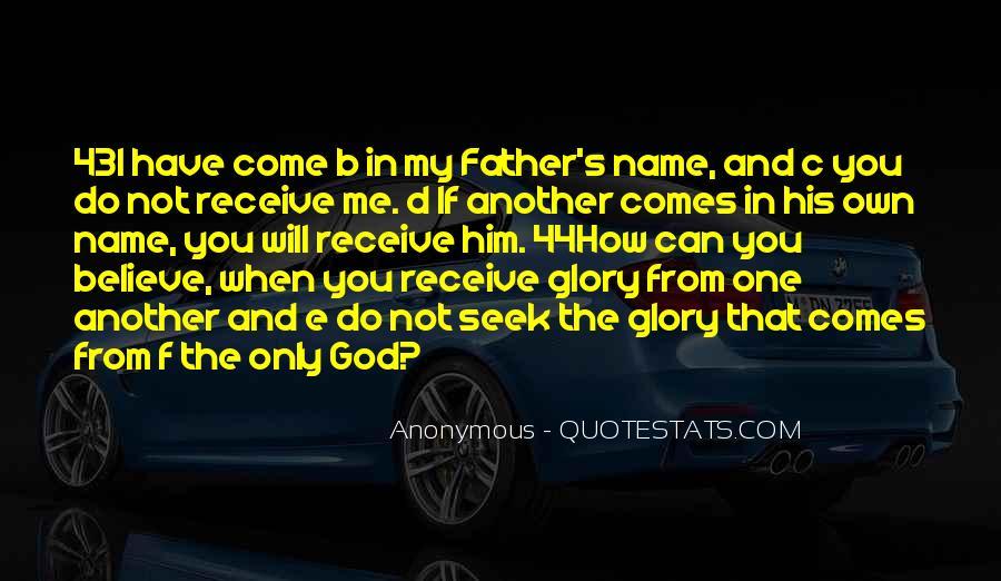 Seek God Quotes #112490