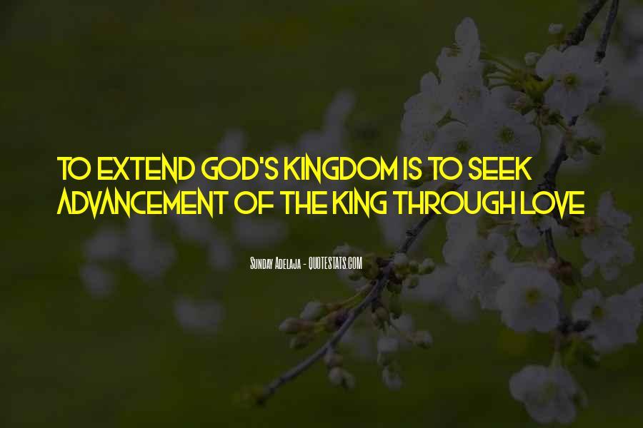 Seek God Quotes #132658