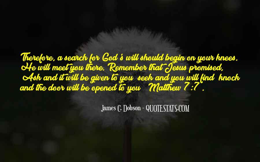 Seek God Quotes #142410