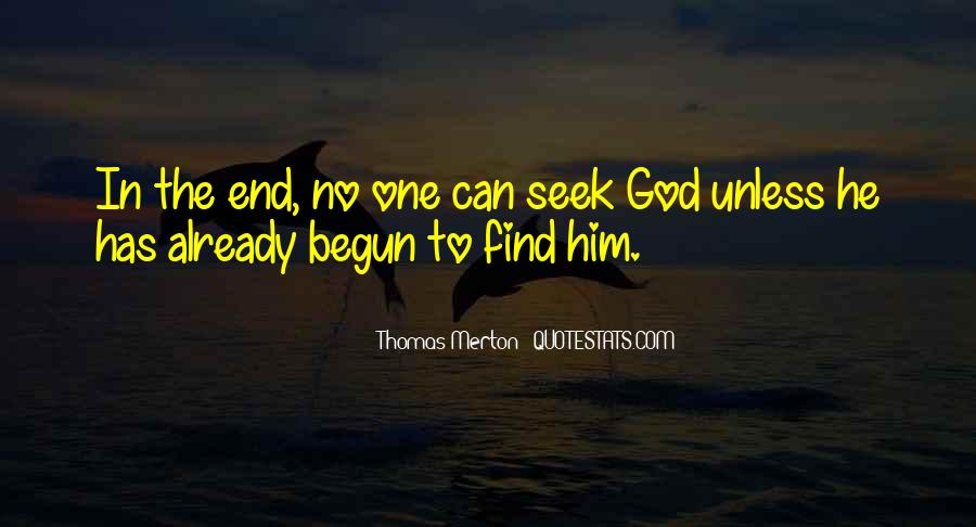 Seek God Quotes #152736