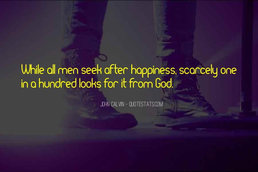 Seek God Quotes #16496