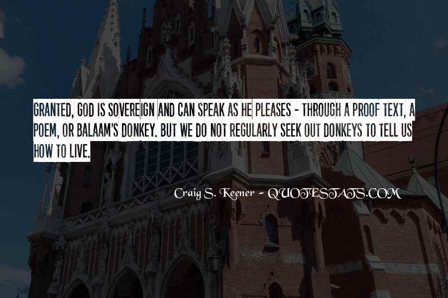 Seek God Quotes #165647