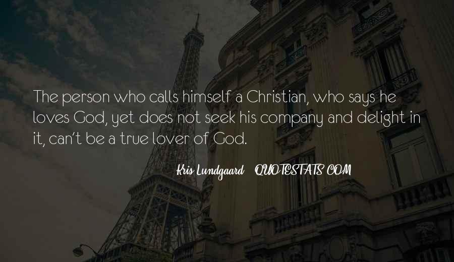 Seek God Quotes #175911