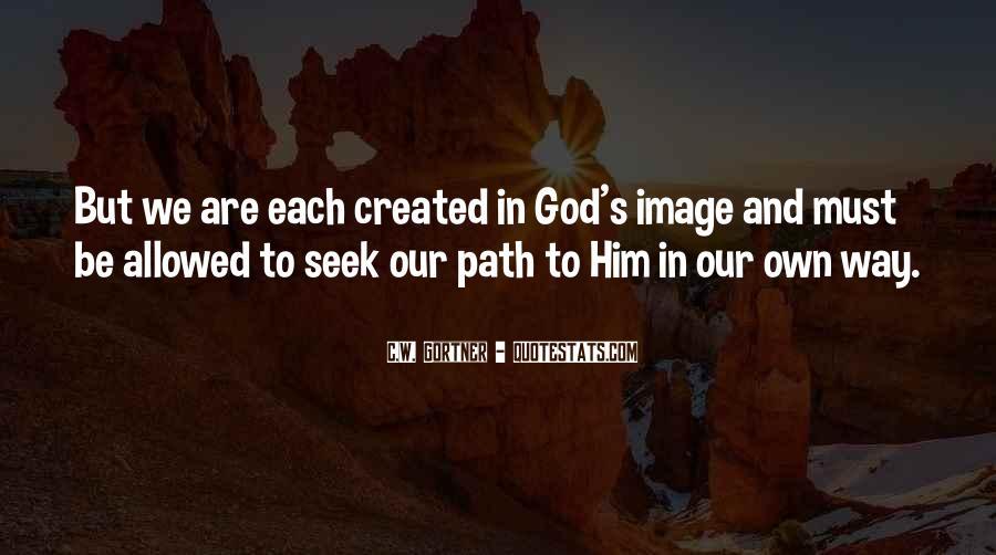 Seek God Quotes #186725