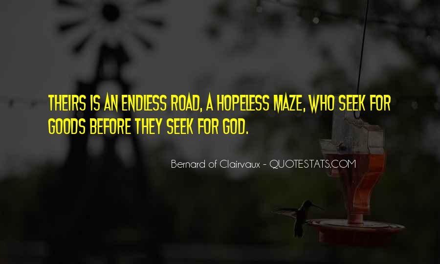 Seek God Quotes #203774