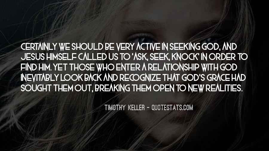Seek God Quotes #210341