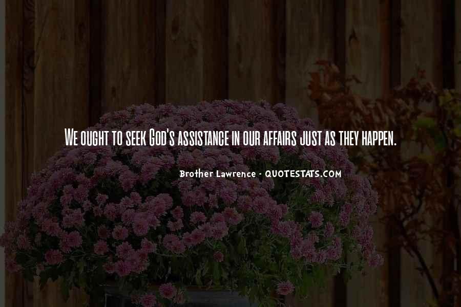 Seek God Quotes #225507