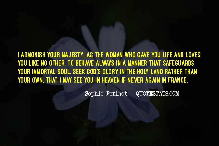 Seek God Quotes #234798