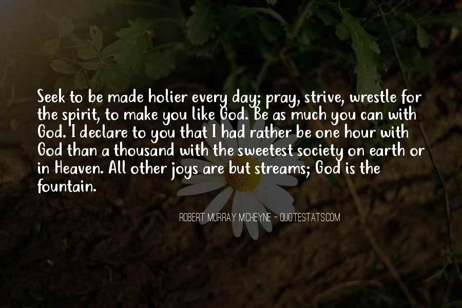 Seek God Quotes #236899