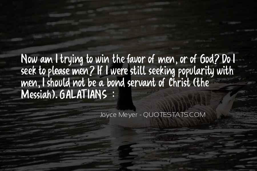 Seek God Quotes #259979