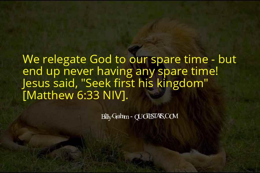 Seek God Quotes #261744
