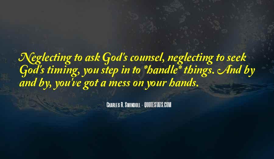 Seek God Quotes #268986