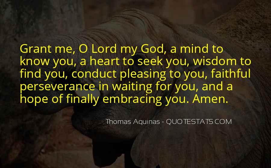 Seek God Quotes #269832