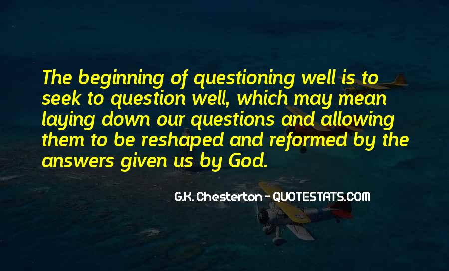 Seek God Quotes #271010
