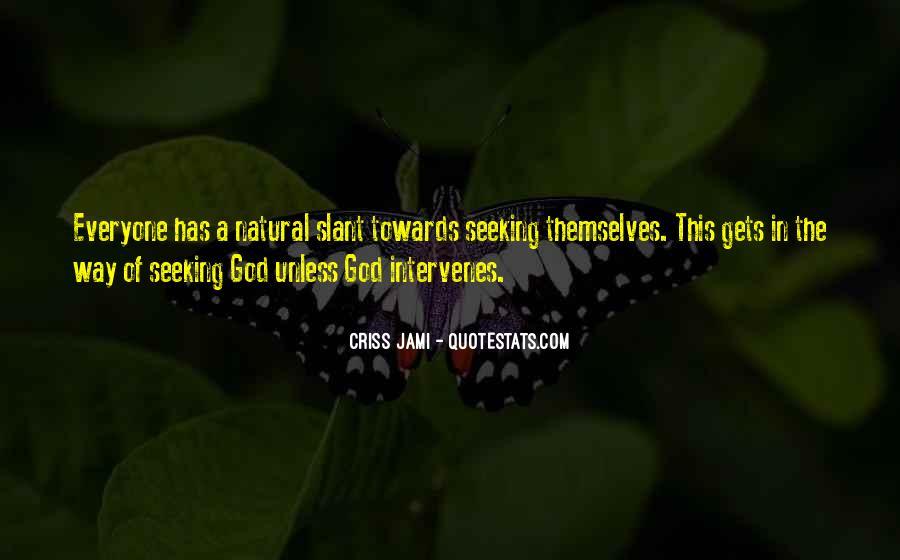 Seek God Quotes #271524