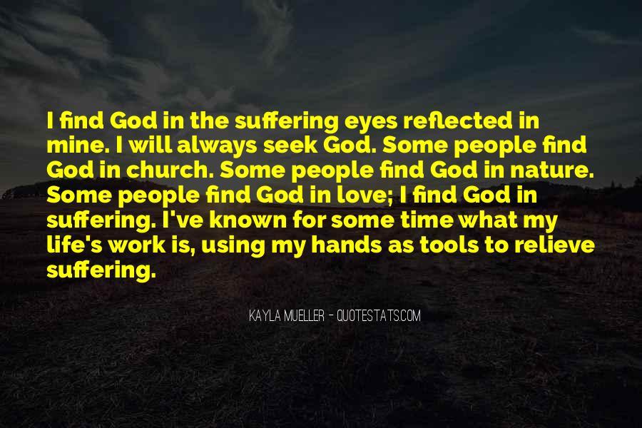Seek God Quotes #275642