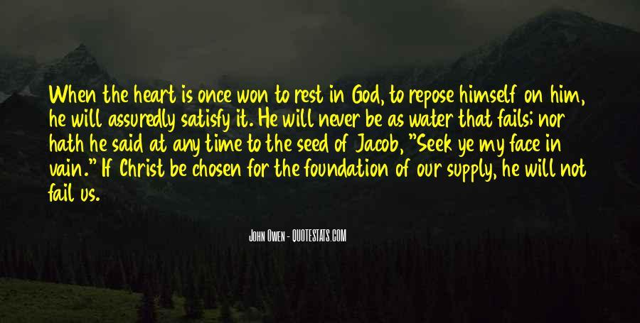 Seek God Quotes #276908