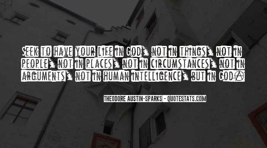 Seek God Quotes #45099