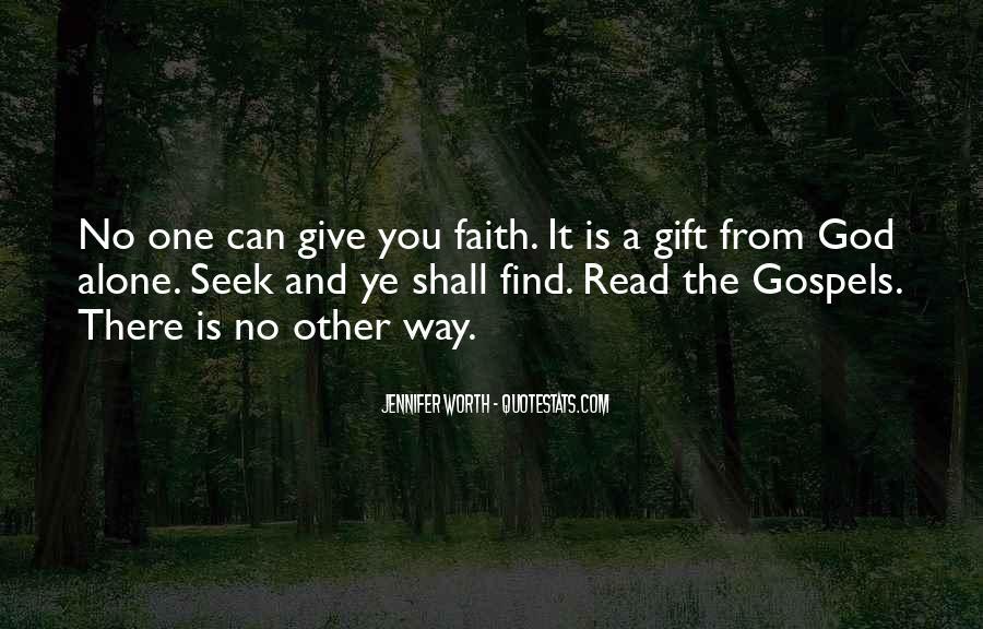 Seek God Quotes #56951