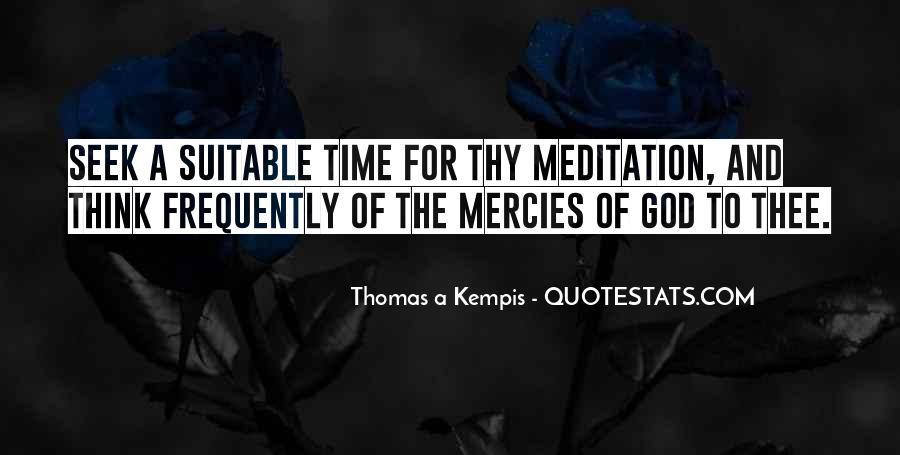 Seek God Quotes #66097