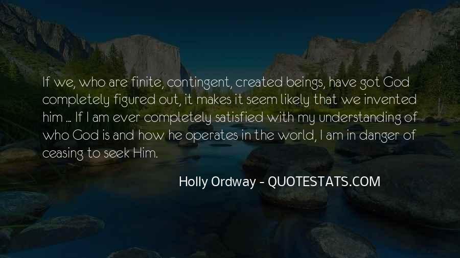 Seek God Quotes #94759