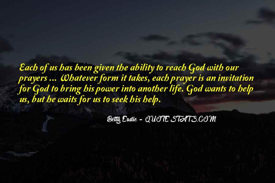Seek God Quotes #99534