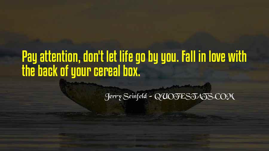 Seinfeld Cereal Quotes #335453