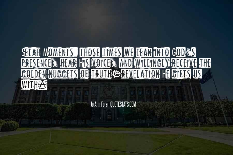 Selah Quotes #1258771