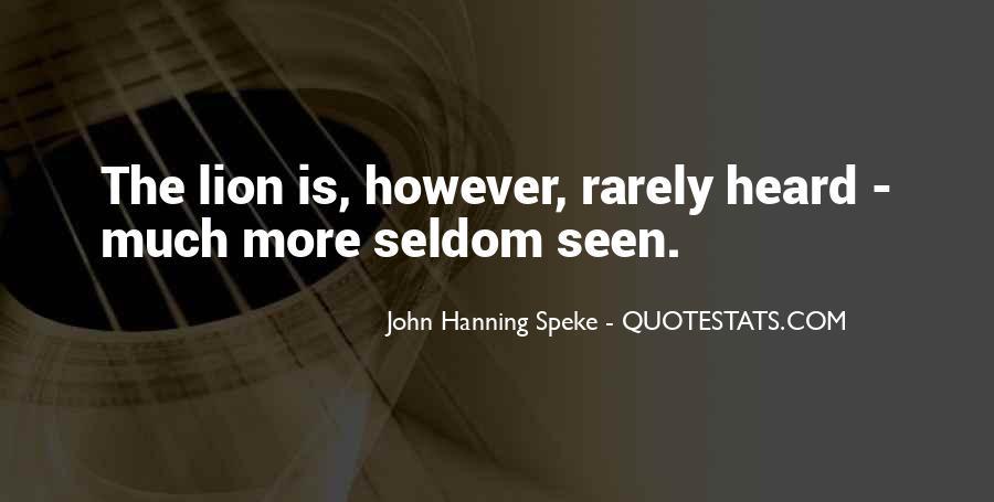 Seldom Heard Quotes #527862
