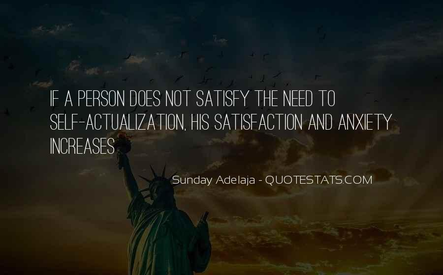 Self Actualization Quotes #615728
