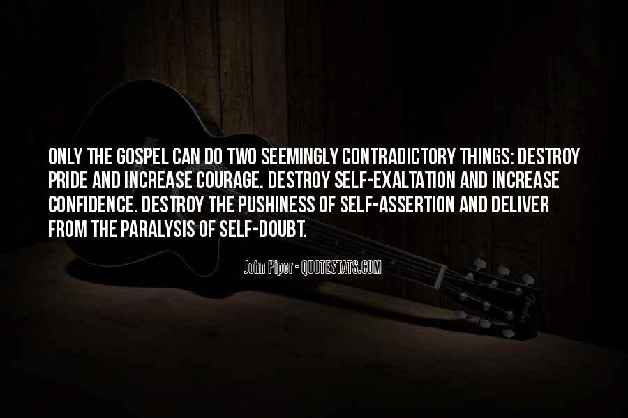 Self Contradictory Quotes #191452
