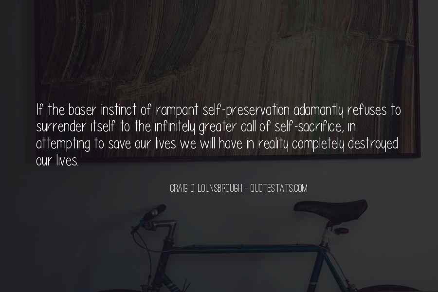 Self Destroy Quotes #1005770