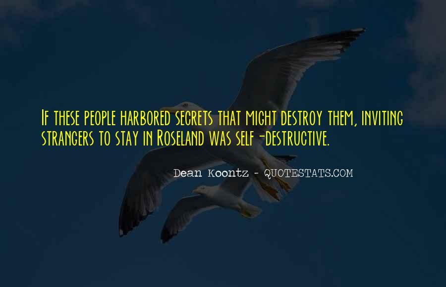 Self Destroy Quotes #1075049