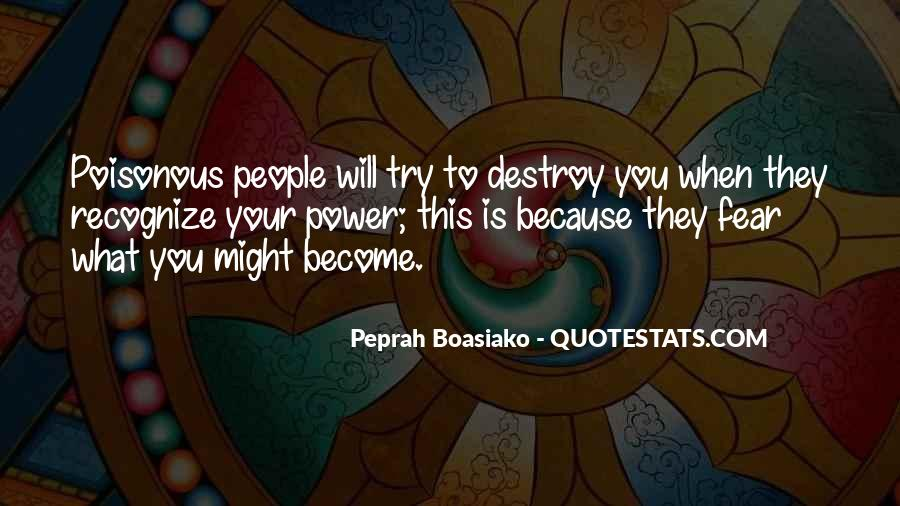 Self Destroy Quotes #1199940