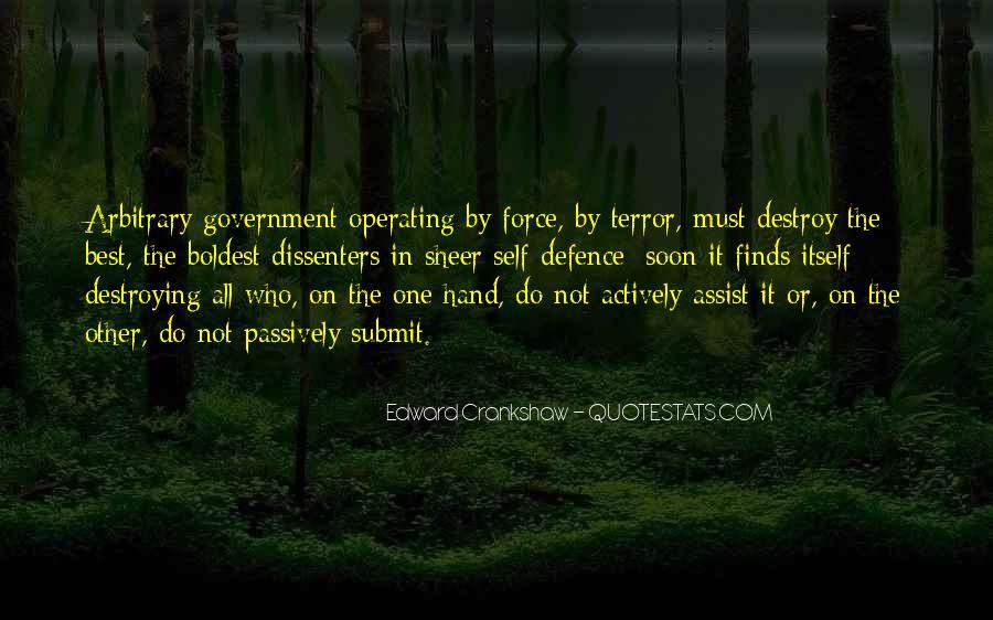 Self Destroy Quotes #1579969