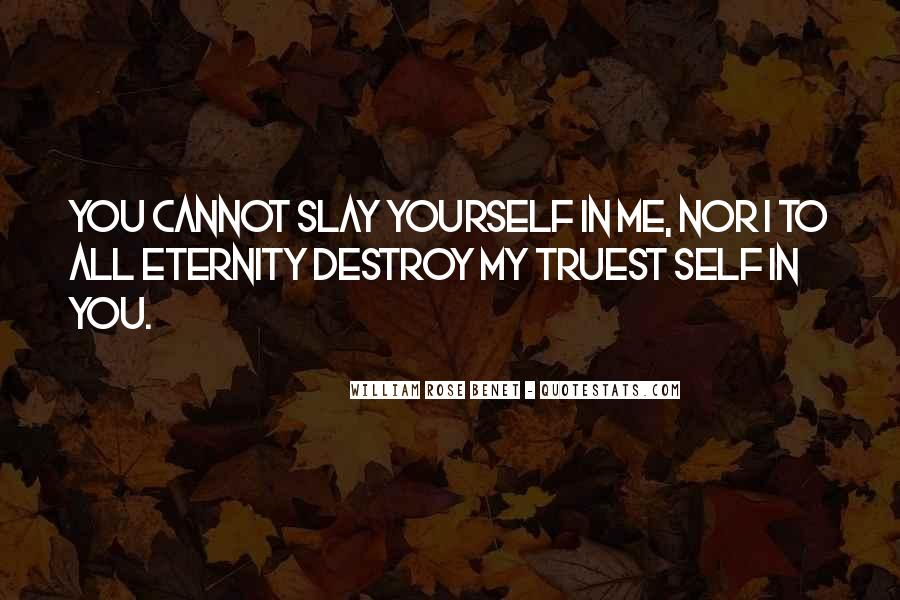 Self Destroy Quotes #1585886
