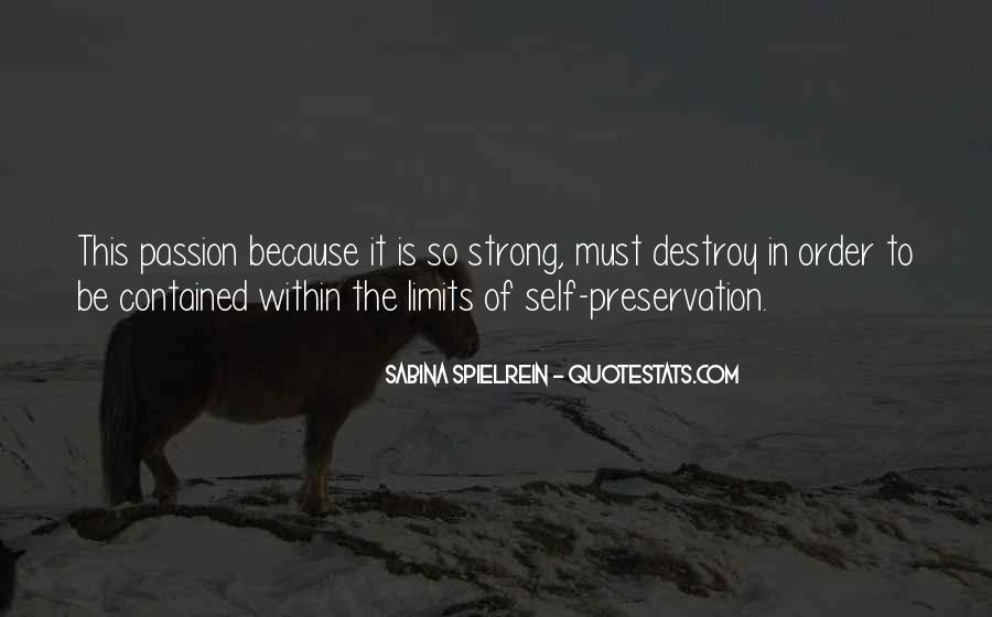 Self Destroy Quotes #220052