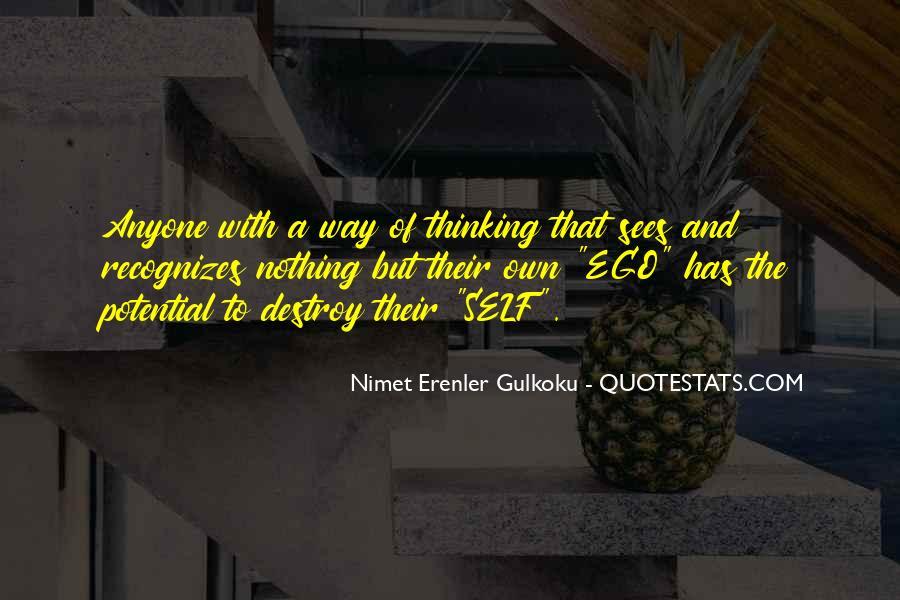 Self Destroy Quotes #354181