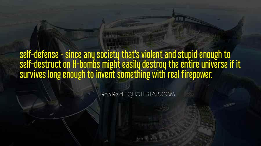 Self Destroy Quotes #475211