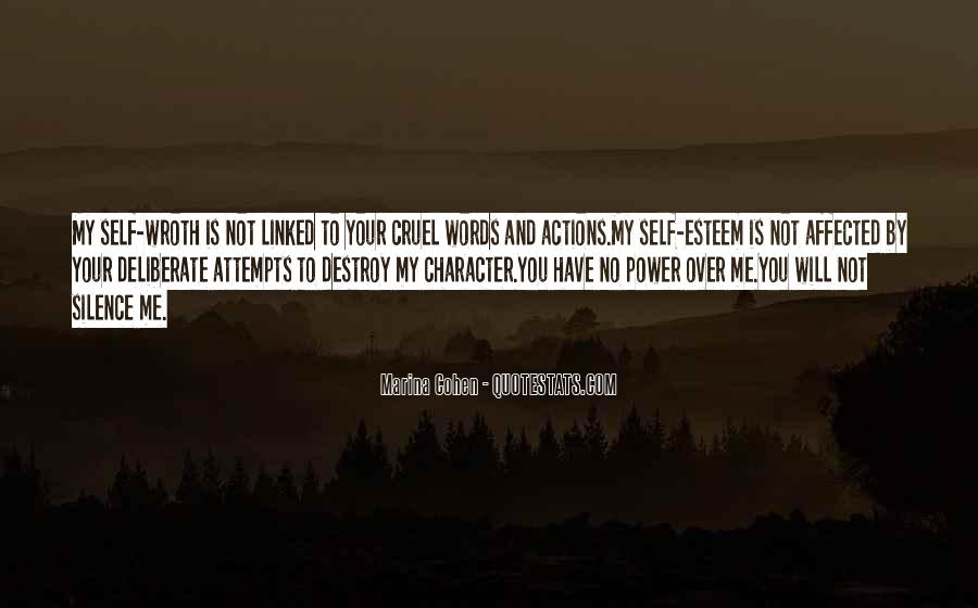 Self Destroy Quotes #576800
