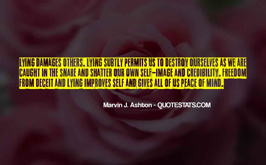 Self Destroy Quotes #92689